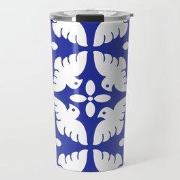 Dove Pattern 2 Travel Mug