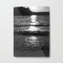 Feeling the Sunset Metal Print