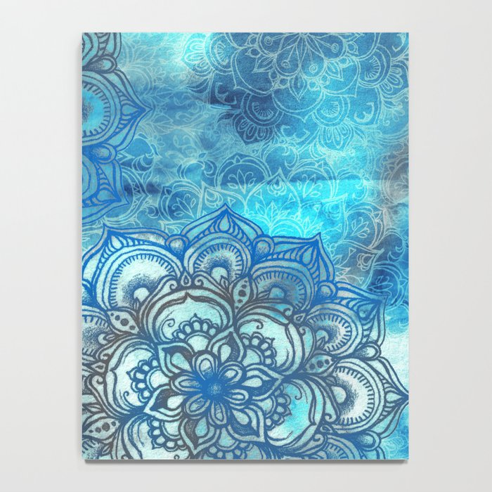Lost in Blue - a daydream made visible Notebook