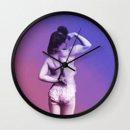 Strongest Ladies I Know - Bi Wall Clock