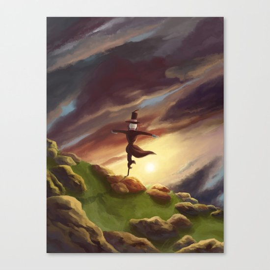 Studio Ghibli - Howl's Moving Castle Canvas Print