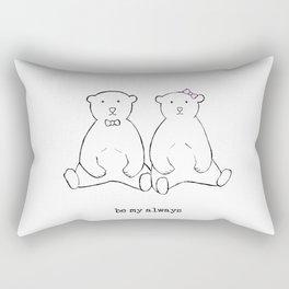 be my always Rectangular Pillow