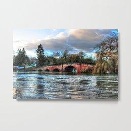 Sonning Bridge Metal Print