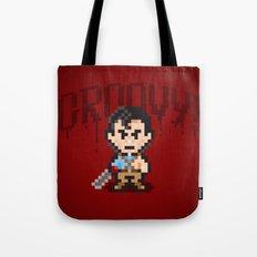 Evil Dead Pixels Tote Bag