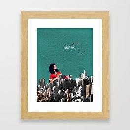 High Rise View Framed Art Print