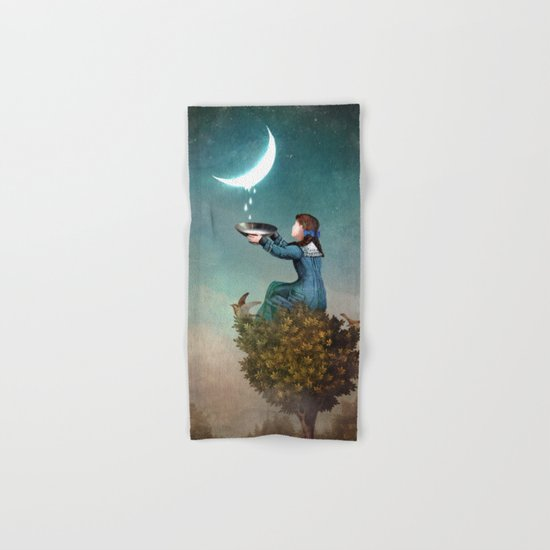 Moondrops Hand & Bath Towel