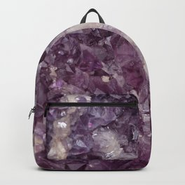 Deep Purple Quartz Crystal Rucksack