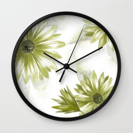 Watercolor Gerbera III Wall Clock