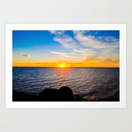 Puerto Peñasco, Mexico Sunset Art Print