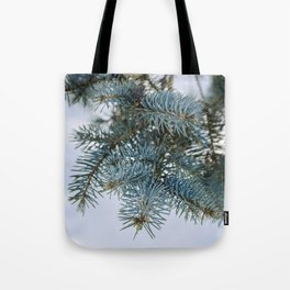 Blue Spruce Tote Bag