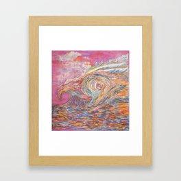 Falconwave Framed Art Print