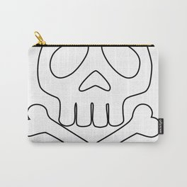 Captain Harlock Anime Skull Carry-All Pouch