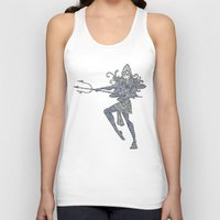 shiva Tank Tops featuring Shiva by KittenDCute