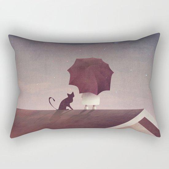 Twin Moon Rectangular Pillow