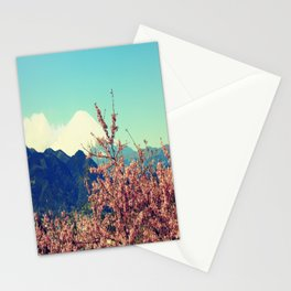 Mountains & Flowers Landscape Stationery Cards