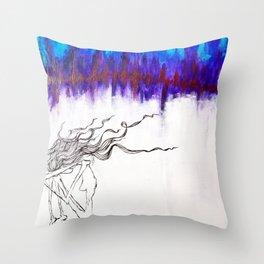 It Tore Through Us Throw Pillow