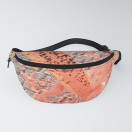 SquaRed: Hobnailed for Sickle Fanny Pack
