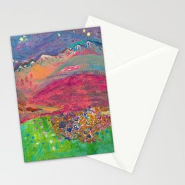 Twilight at Rock Candy Mountain Stationery Cards