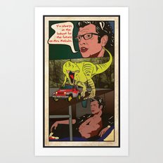 Sexy will find a way.  Art Print