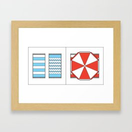 #035 Framed Art Print
