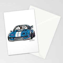 Crazy Car Art 0149 Stationery Cards