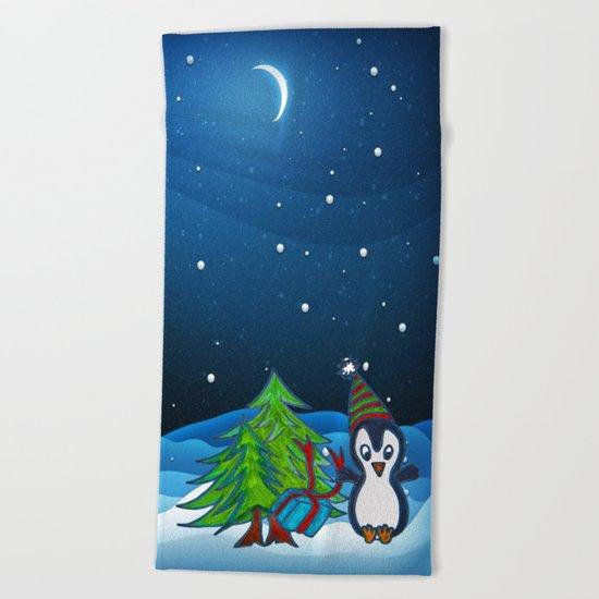 Christmas Gifts   Christmas Spirit   Kids Painting Beach Towel