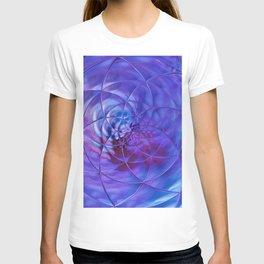 blue ln T-shirt
