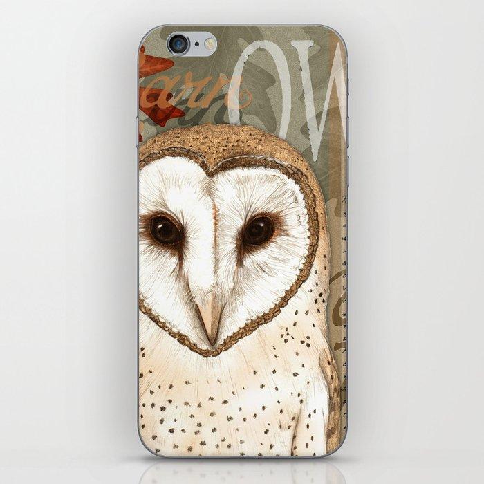 The Barn Owl Journal iPhone Skin