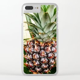 Mine-apple Pineapple Clear iPhone Case
