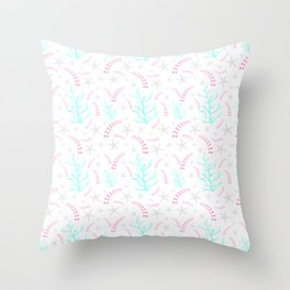 Beachy Dayz Throw Pillow