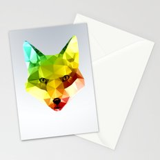 Glass Animal - FOX head Stationery Cards