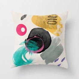 good abstract Throw Pillow