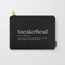 Sneakerhead Definition (Blackout) Carry-All Pouch