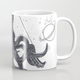 Space Mutan Octopus the Legend of Space Coffee Mug