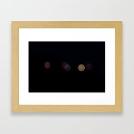 One of Us, One of Them Framed Art Print