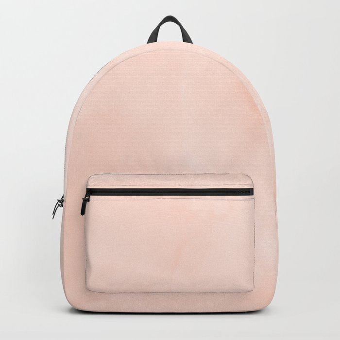 Simply Sweet Peach Coral Watercolor Backpack