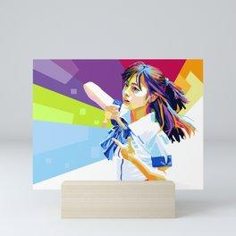 Kanna chan Mini Art Print