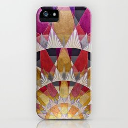 Triangle Explosion iPhone Case