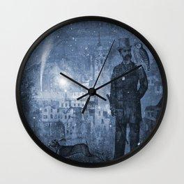 One Starry Night Wall Clock
