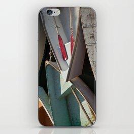 Schoodic Peninsula Boats iPhone Skin