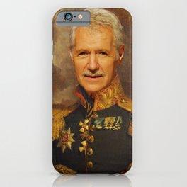 Alex Trebek, Jeopardy, Classical Painting as General, Regal art iPhone Case