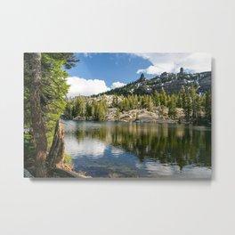 Kirkwood Lake, Eldorado National Forest, California Metal Print