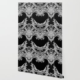 Unity of Halves - Life Tree - Rebirth - Black Wallpaper