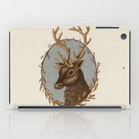 reindeer iPad Cases featuring Reindeer by Sarah DC