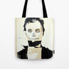 Abraham Lincoln (skull) Tote Bag