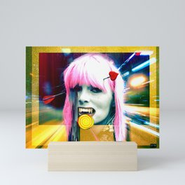 Dead and Famous: Nico (The Velvet Underground) Mini Art Print