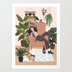 Its called fashion sweetie Art Print