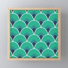 Nouveau Coquille Framed Mini Art Print