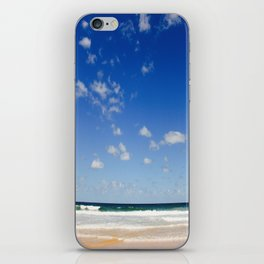 The Silence of waves iPhone Skin