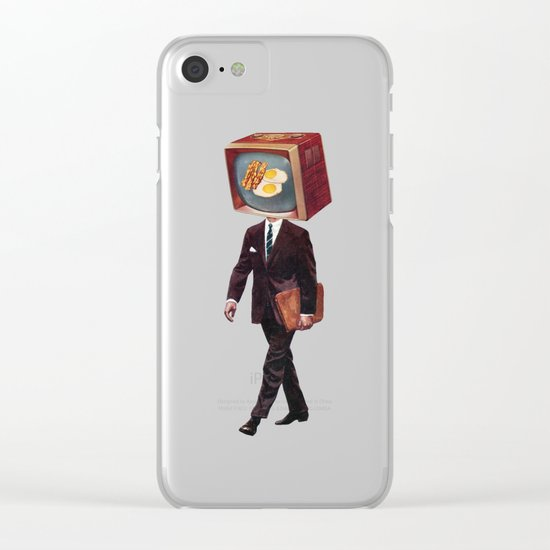office worker Clear iPhone Case